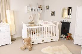 White Nursery Decor Bed Ideas Excellent Stunning White Theme Baby Bedroom Furniture