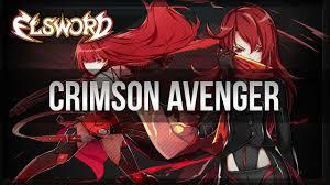 crimson elsword official crimson avenger and dark knight trailer youtube