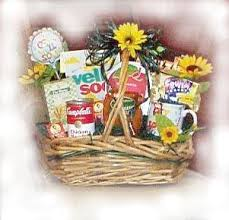 get well soon baskets a basket to remember offers a alternative to flowers