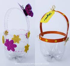 diy easter basket plastic bottle diy easter baskets