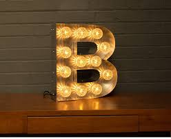 light up marquee bulb letters a to z by goodwin goodwin