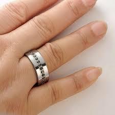 e wedding bands mens black tungsten wedding bands