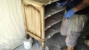 Paint Shabby Chic Furniture by Painting Shabby Chic Furniture Start To Finish Part 13 Youtube