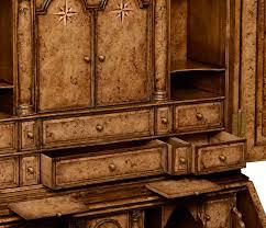 classic multi drawer wooden bureau cabinet 79