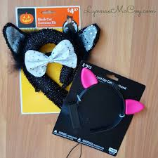Halloween Costume Cat Ears Easy U0026 Inexpensive Matching Mommy U0026 Daughter Black Cat Costumes