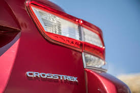 red subaru forester 2018 2018 subaru crosstrek first drive still brilliant but for one