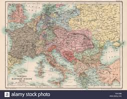 Central Europe Map by Europe 19th Century Map Stock Photos U0026 Europe 19th Century Map