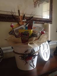 fishing gift basket fishing gift basket bigdiyideas