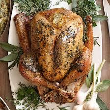herb roasted turkey with white wine gravy family circle