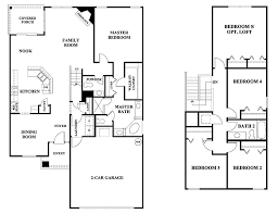 house plans with 5 bedrooms 4 bedroom 2 story house floor plans on 4 bedroom 2 bath house floor