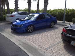 custom blue subaru 2007 subaru impreza wrx tr for sale naples florida