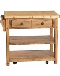 butcher block portable kitchen island deals on designs sedona butcher block kitchen island cart brown