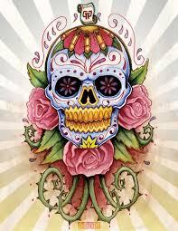 sugar skull by mr biggs on deviantart