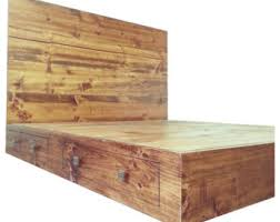 Oak Platform Bed Floating White Oak Platform Bed Frame