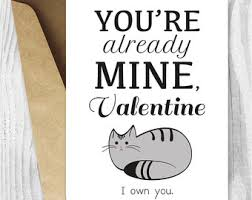 grumpy cat valentines card printable cat s day card