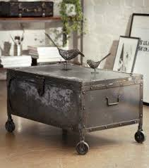 Trunk Coffee Table Metal Trunk Coffee Table New Square Coffee Table For Fish Tank