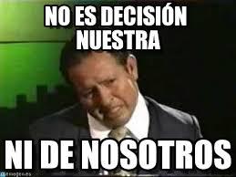 Memes De Sammy - no es decisión nuestra sammy xhderbes meme on memegen