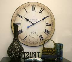 home design bulova c4820 carmen large wall clock the depot
