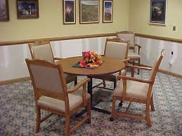 Dining Table And Chairs On Wheels Astonishing Dining Room Chairs With Arms And Casters 27 With
