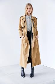Long Trench Coats For Women Vintage Burberry Full Length Trench Coat C O O L Fashion I