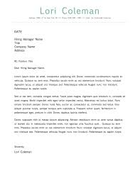 Brilliant Ideas Simple Beautiful Cover Letter Template for