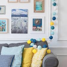 déco coussin canapé décoration canapé bleu gris avec coussin jaune photos de canapes