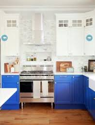 Blue Countertop Kitchen Ideas Cooking In Blue 10 Inspiring Kitchens Styled In Blue Blue