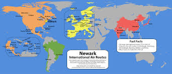 Newark Map Airport International Connectivity Ranking China Vs Us East By