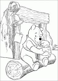 winnie pooh characters pictures coloring