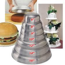 wedding cake pans 7 kopykake kontour corner cake pan set
