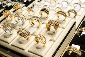 golden rings images images Golden rings with diamonds and other gemstones jewelry for women jpg