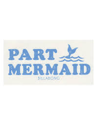 jeep stickers for girls billabong party mermaid 6 x 3 sticker imported gifts