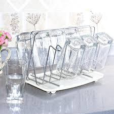 new wine glass rack single row bar holder home kitchen under