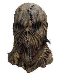 scarecrows mask with crows horror mask for halloween horror