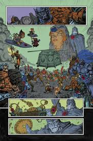 comic book color he man thundercats issue 5 color sample dc comics heroes motu