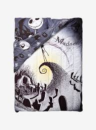 the nightmare before christmas moonlight full queen comforter