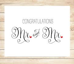 wedding congratulations cards printable mr and mr wedding card marriage wedding card