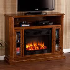 light oak electric fireplace southern enterprises atkinson rich brown oak electric fireplace
