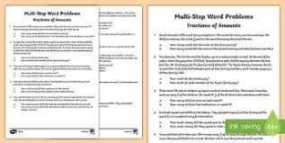 fractions primary resources ks2 maths primary page 1