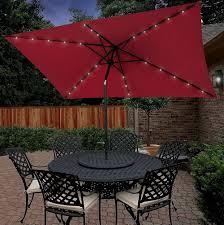 home depot umbrellas solar lights lighting rectangular market umbrella sunbrella patio umbrellas