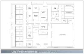 floorplan hs harrison cty dog care facility floorplans
