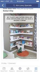 Vinyl Rain Gutter Bookshelves - rain gutter bookshelves i like that they don u0027t take up floor