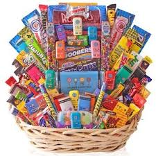 best gift baskets s candy bar deluxe gift basket in best of s gift
