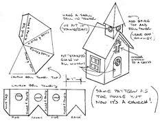 cardboard house patterns printing the plans we u0027ve provided two