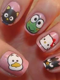 easy nail art characters kid friendly ideas hopefully their nails will be wide enough to do