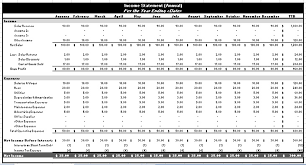 Financial Statements Templates For Excel 8 Free Financial Statement Templates Word Excel Sheet Pdf