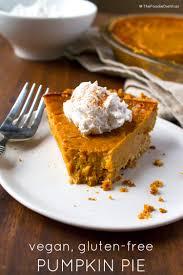 vegan gluten free thanksgiving recipes kara lydon vegan gluten free pumpkin pie