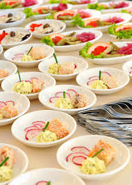 assorted individual salads on a buffet stock photo image 41277859