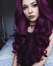 dark purple wavy waist length wig http www donalovehair com 335