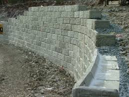 concrete retaining wall detail google search construction